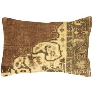 """Nalbandian - Turkish Oushak Lumbar Pillow - 16"""" X 24"""" For Sale"""
