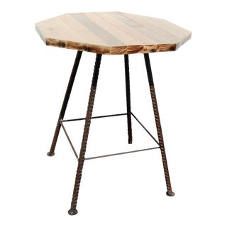 Industrial Wooden Bar Table