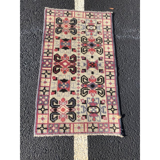 Vintage Turkish Anatolian Small Area Rug - 2′4″ × 4′ For Sale - Image 11 of 11