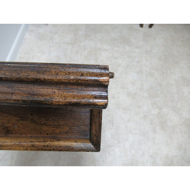 Vintage Century Furniture Country French Oak DiningTable For Sale - Image 12 of 13