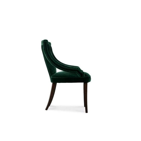 Art Deco Cayo Dining Chair. From Covet Paris For Sale - Image 3 of 8