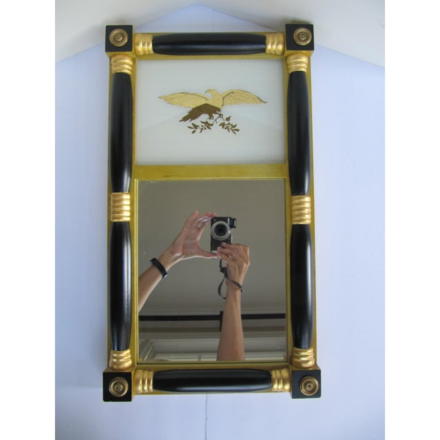 Federal-Style Eagle Crest Mirror For Sale - Image 6 of 6