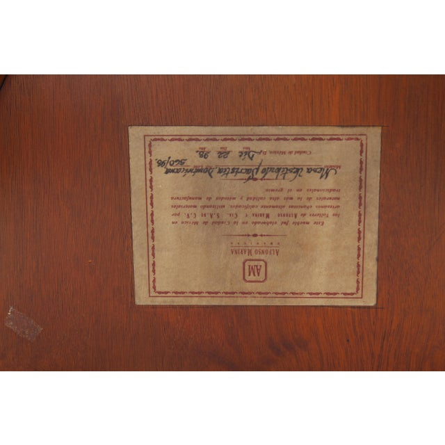 Spanish 1980s Spanish Parquetry Table For Sale - Image 3 of 8