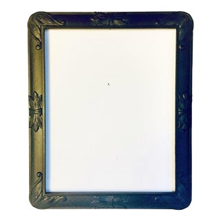19th Century Antique Gothic Style Black Frame For Sale