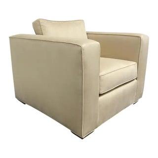 RJones Tuxedo Lounge Chair For Sale