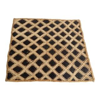 African Kuba Kasai Velvet Raffia Textile Zaire For Sale