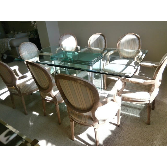 French Neoclassical Armchairs - Set of 8 - Image 6 of 6