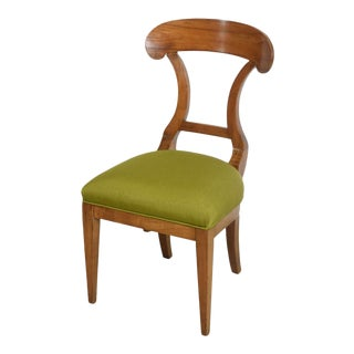 Biedermeier Fruitwood Side Chair For Sale