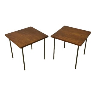 Set of Teak Side Tables for John Stuart, Inc. For Sale