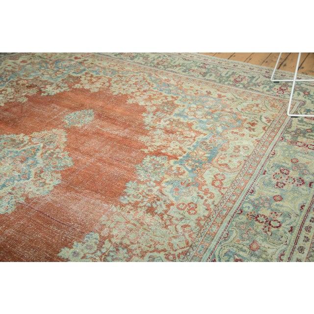 "Islamic Vintage Distressed Arak Carpet - 10' x 13'3"" For Sale - Image 3 of 10"