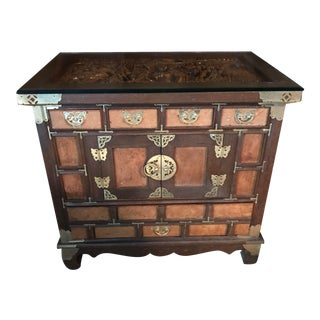 1910s Antique Chinese Walnut Table For Sale