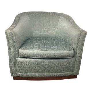1980s Vintage Swivel Tub Chair For Sale