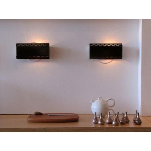 Enameled Dutch Wall Lights - A Pair - Image 10 of 10