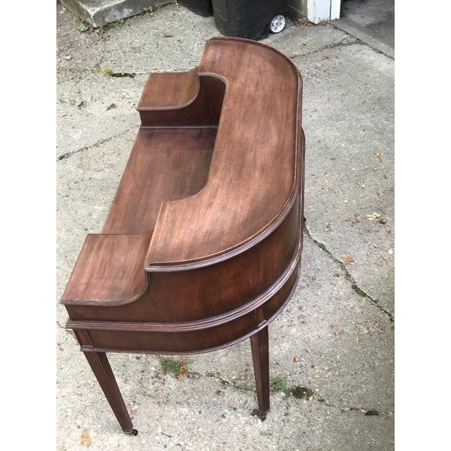 Lake Forest Estate Grand Rapids Furniture Carlton Adam Style Desk - Image 3 of 11