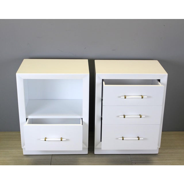 Vintage Robsjohn-Gibbings Bedside Tables - A Pair - Image 4 of 8