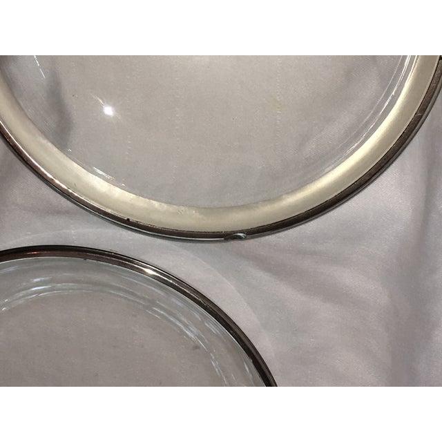 Dorothy Thorpe Silver Rim Plates - Set of 6 - Image 6 of 6