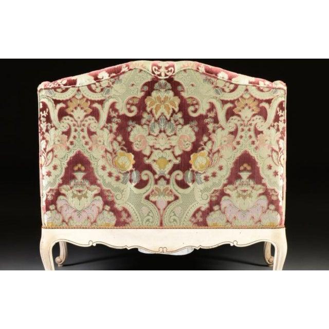 Velvet Chaise Lounge by John Widdicomb - Image 4 of 8