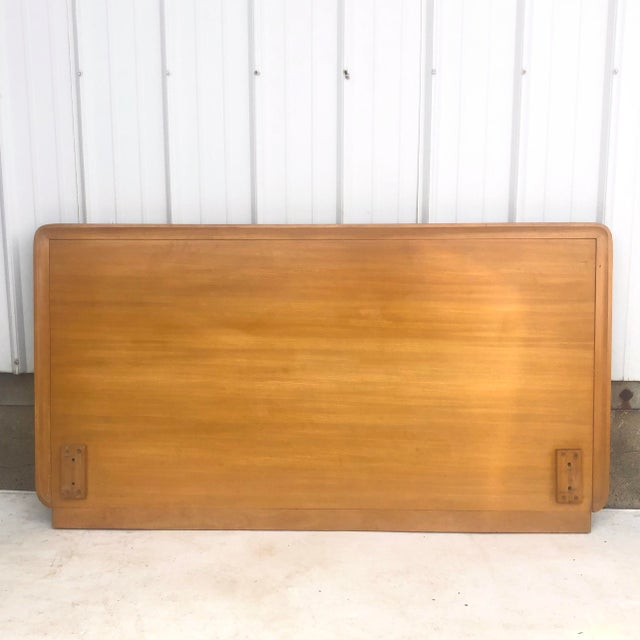 Mid-Century Full Size Headboard by Edward Wormley for Drexel For Sale - Image 11 of 12