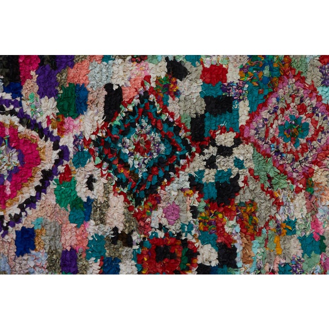 A favorite of Interior Designers and Stylists, Boucherouite Rugs are hand loomed by the women of the Berber Tribes of the...