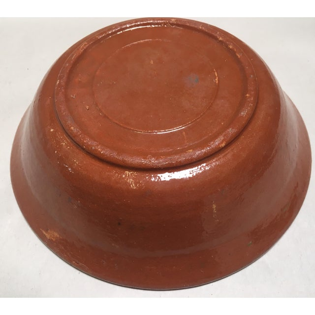 Redware Bowl With Rabbit - Image 4 of 5