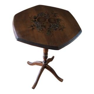 Vintage Standard Chair of Gardener Inc Hexagon Table For Sale