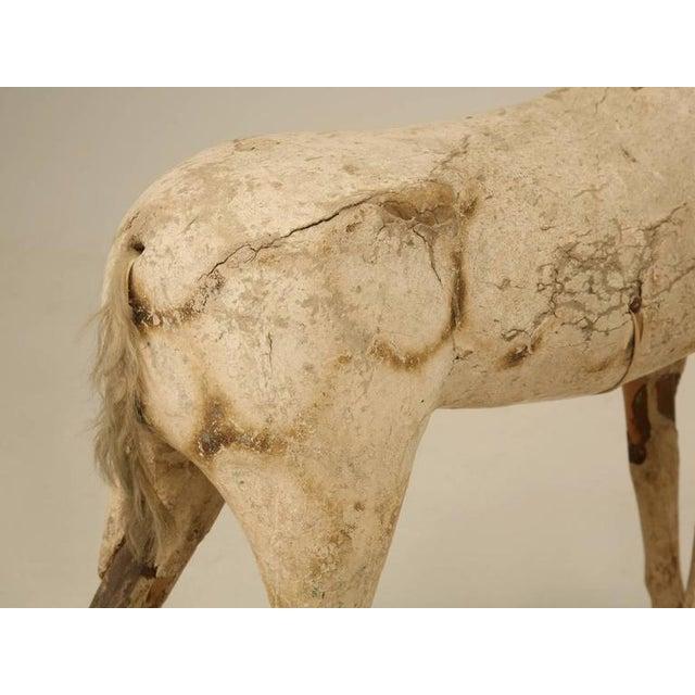 Antique Child's Papier Mâché Horse - Image 9 of 10