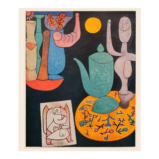"1958 Paul Klee ""Still Life"", First English Edition Lithograph of the Artist's Last Work For Sale"