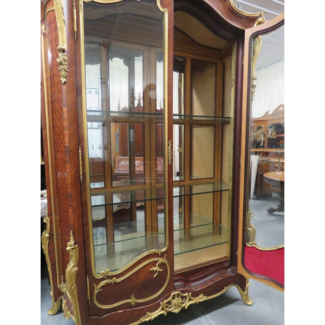 Signed Francois Linke Louis XV Cabinet For Sale - Image 10 of 12