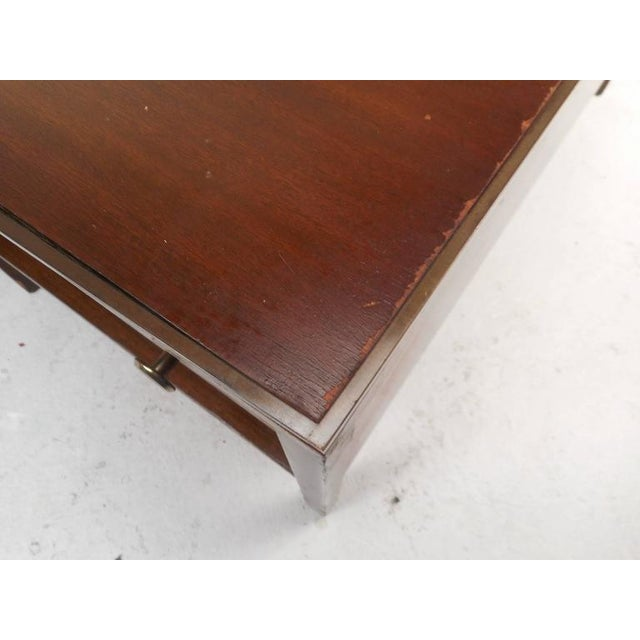 1970s Mid-Century Modern Walnut Coffee Table in the Style of Paul McCobb For Sale - Image 5 of 10