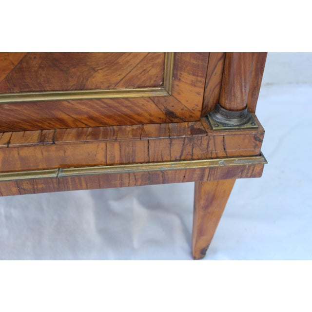 19th Century Italian Fruitwood Nightstand For Sale - Image 4 of 12