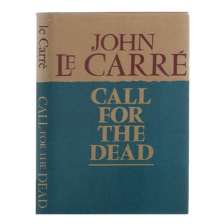 "1962 ""First American Edition, Call for the Dead"" Collectible Book For Sale"