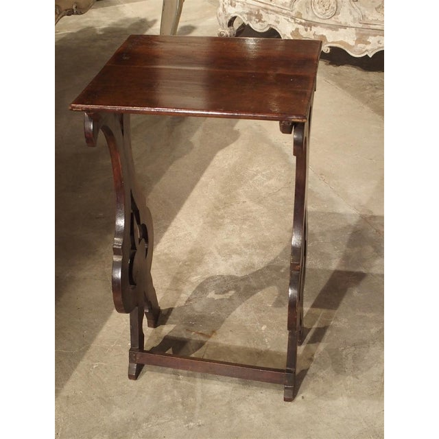 Pair of Antique Italian Nesting Tables, C. 1900 For Sale - Image 9 of 13