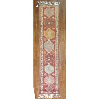Vintage Anatolian Geometric Runner - 2'9'' x 14' Preview