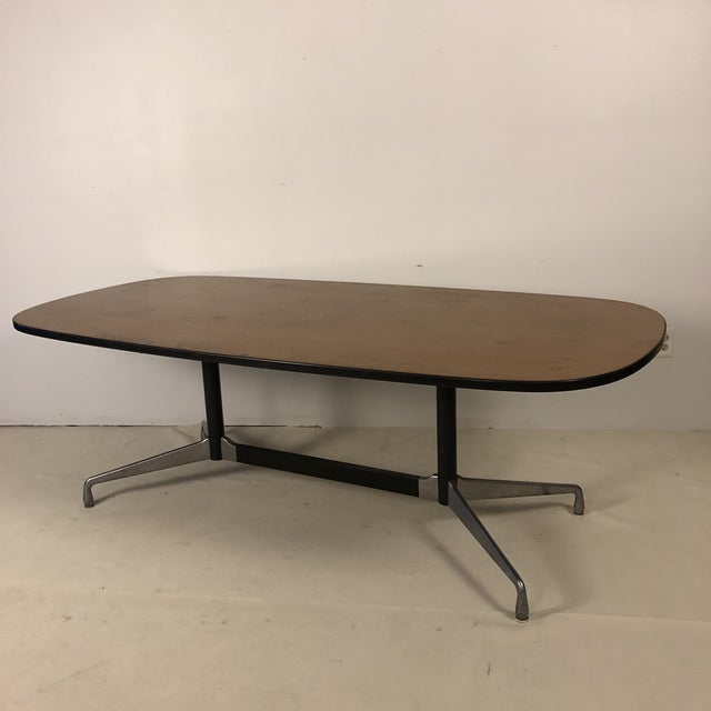 Mid-Century Modern Herman Miller Aluminum Group Conference Table by Charles Eames For Sale - Image 3 of 11