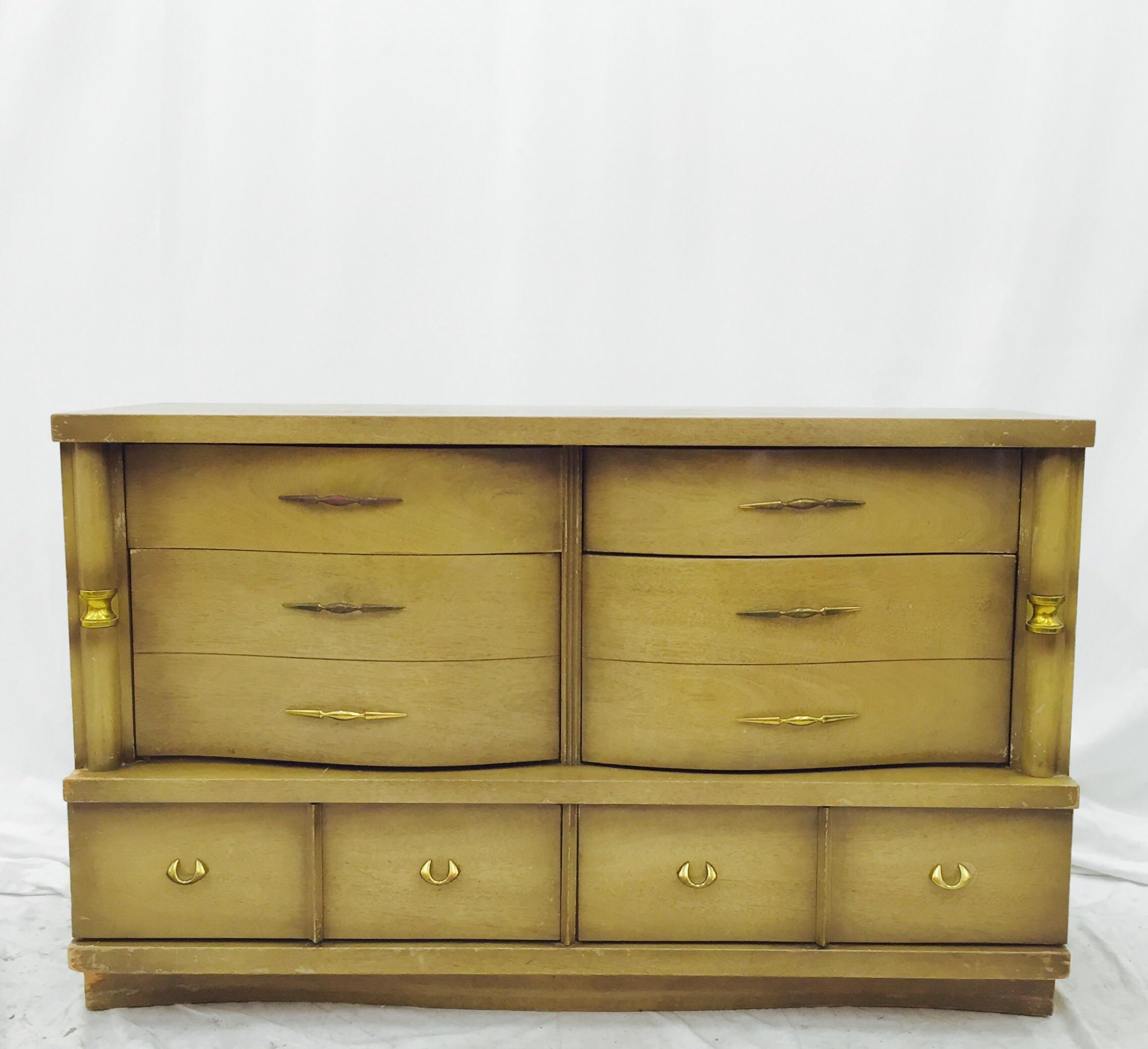 Bassett Furniture Mid Century Dresser   Image 2 Of 11