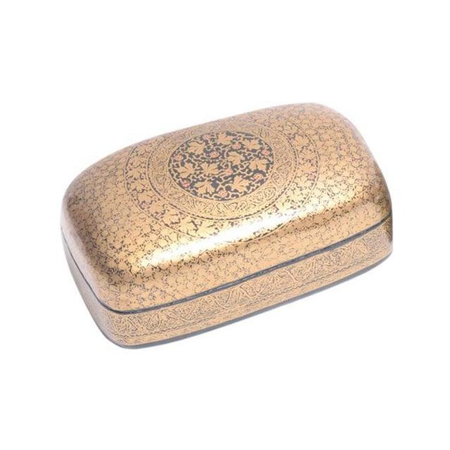 Golden Vineyard Kashmiri Box - Image 1 of 5
