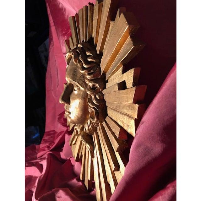 2000s Le Roi Soleil Louis XIV Sculpted Head For Sale - Image 5 of 13