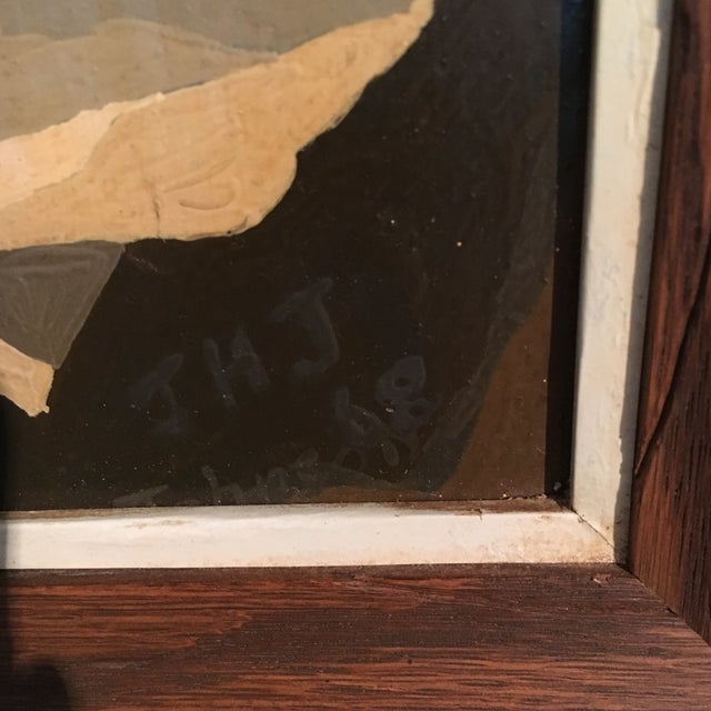 1968 Still Life Paint by Number Framed Painting - Image 3 of 6
