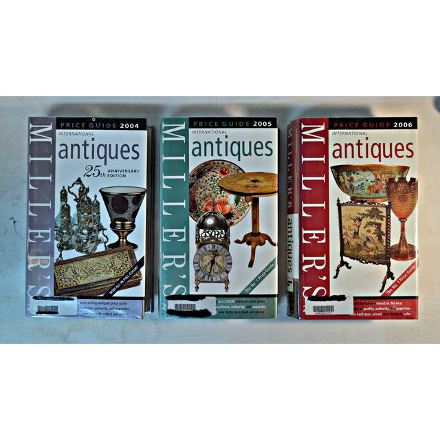 Set of 3 Miller Antique Price Guide, 2004/2005/2006. Featuring the expert advice of internationally acclaimed specialist...