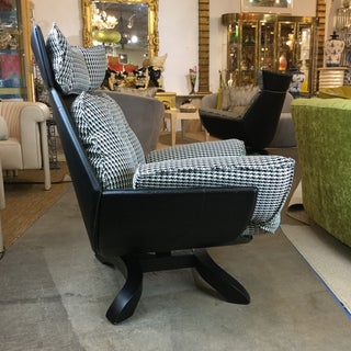 Pair of G. Spaoriti Oversized Mid-Century Chairs Preview