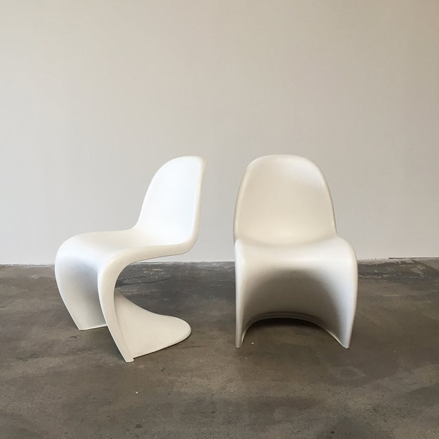 Vitra White 'Panton' Dining Chair - Image 3 of 4