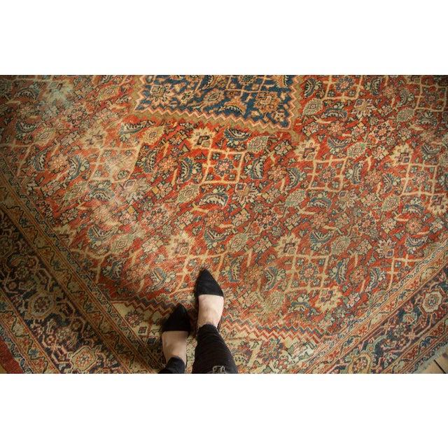 """Antique Mahal Square Carpet - 9'11"""" x 9'8"""" - Image 2 of 10"""