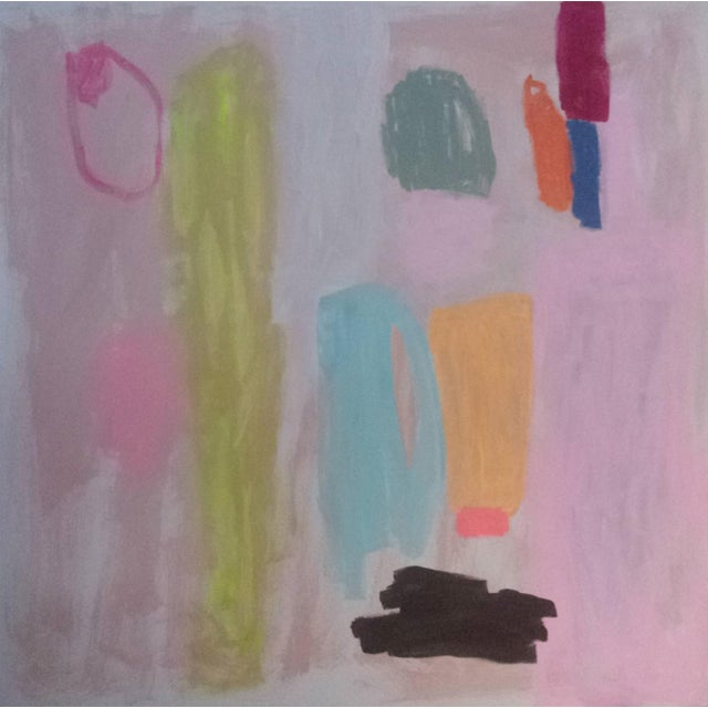 "Susie Kate ""Xo"" Large Original Abstract Painting - Image 1 of 2"