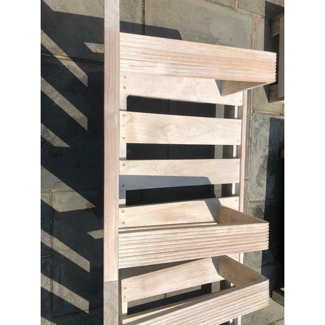 Sutherland Reeded Teak Outdoor Living Room Set | Chairish on Patio Living Room Set id=89329