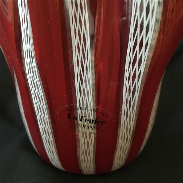 Venini Murano Handkerchief Vases - A Pair - Image 9 of 9