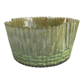 1970s Vintage Murano Biomorphic Centerpiece Bowl For Sale