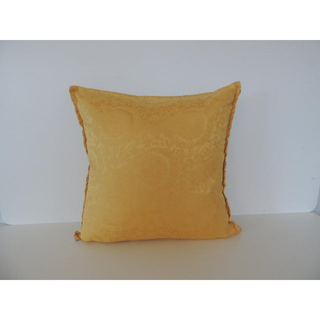 Gianni Versace Authentic Seashells and Coral Printed Decorative Pillow For Sale In Miami - Image 6 of 8