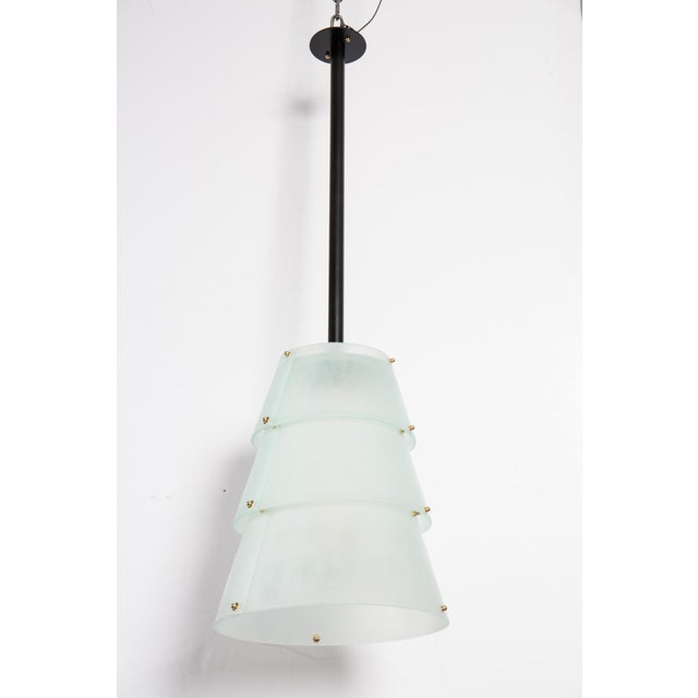 French Modernist Lucite Lanterns- A Pair - Image 2 of 10
