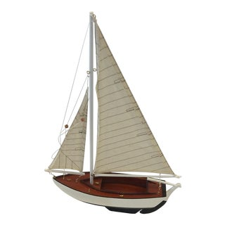 Small Nautical Sailboat Model