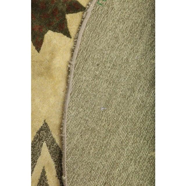 Textile Leleu Art Deco Rug For Sale - Image 7 of 9